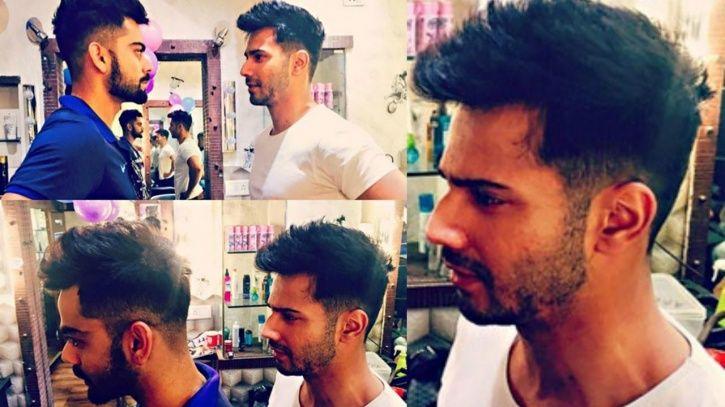 Varun Dhawan is obsessed with his hair. He got a same haircut as Virat Kohli.