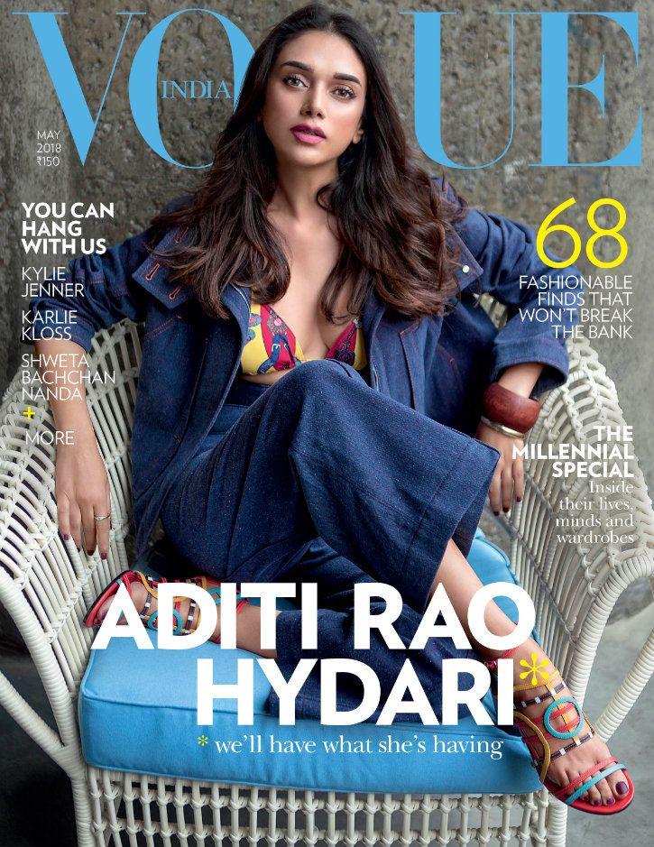 vogue india may 2018 cover aditi rao hydari shot on oneplus 6