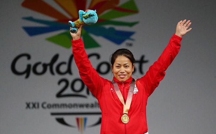 Weightlifter Sanjita Chanu Wins India Second Gold Medal