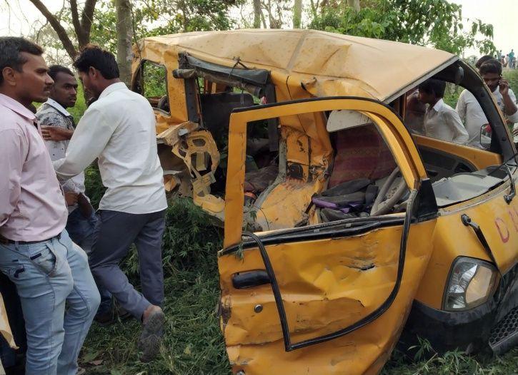 Yogi Adityanath Kushinagar Accident