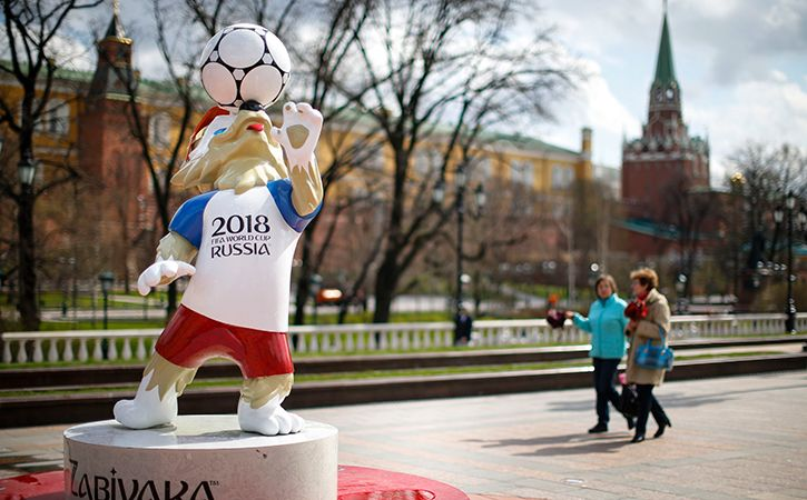 You might have trouble buying a beer on match day in Russia but World Cup fans may still snort cocai