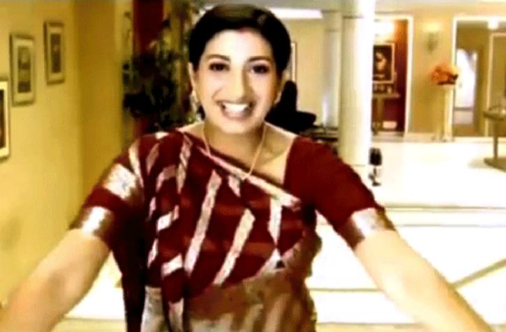 A picture from Indian TV show Kyuki Saas Bhi Kabhi Bahu Thi.