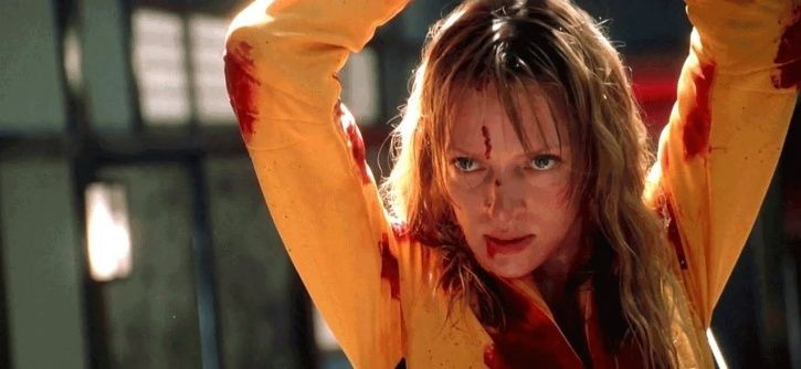 A picture from Kill Bill, which is all set to get a Bollywood remake.