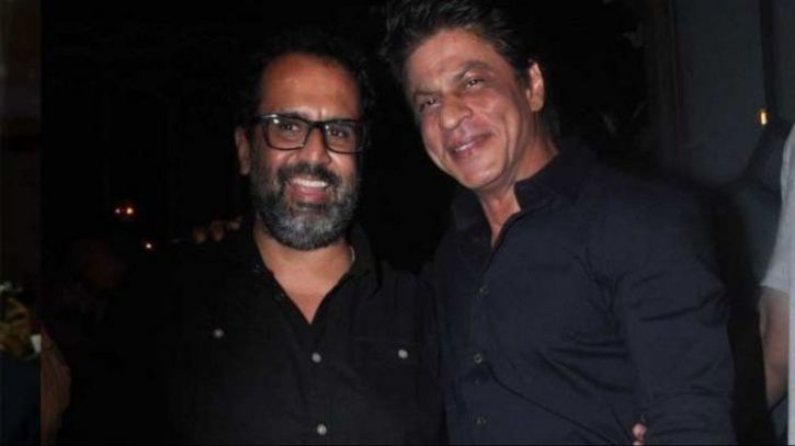 A picture of Anand L Rai with Shah Rukh Khan.
