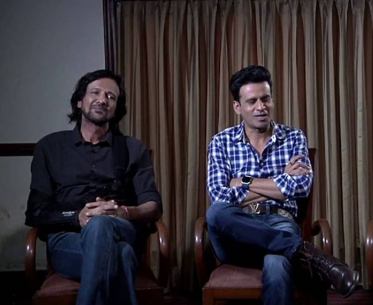 A picture of Kay Kay Menon and Manoj Bajpayee