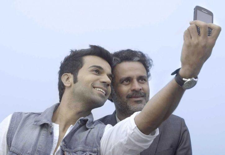 A picture of Manoj Bajpayee and Rajkummar Rao.