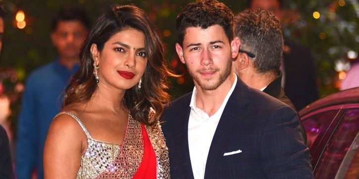 A picture of Priyanka Chopra and Nick Jonas.