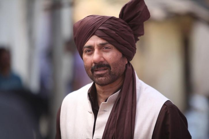 A picture of Sunny Deol who recently talked about nepotism.