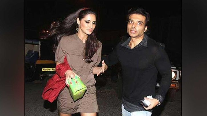 A picture of Uday Chopra and Nargis Fakhri.