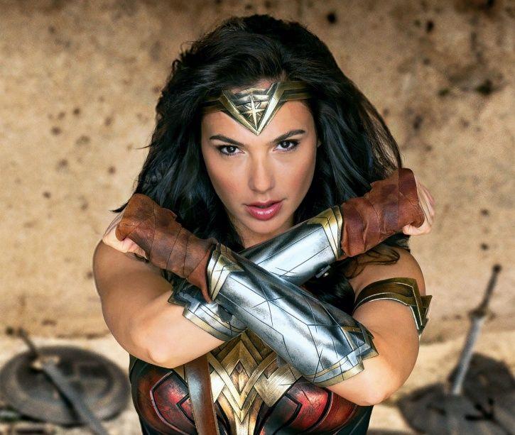A picture of Wonder woman aka Gal Gadot.