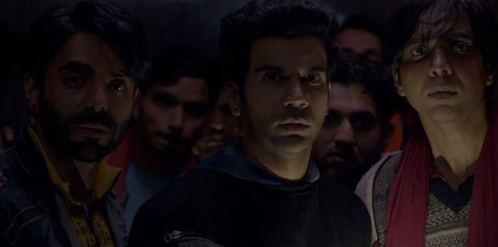A still from Rajkummar Rao and Shraddha Kapoor starrer horror comedy Stree.