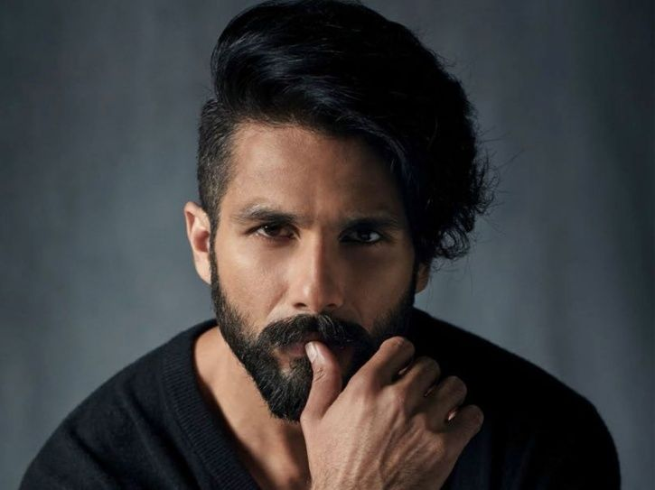 A still of Shahid Kapoor who will play gold medallist Dingko Singh in his biopic.