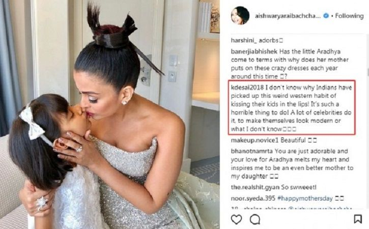 Aishwarya Gives A Kickass Answer To Trolls Who Criticised Her Kiss Pic With Daughter Aaradhya