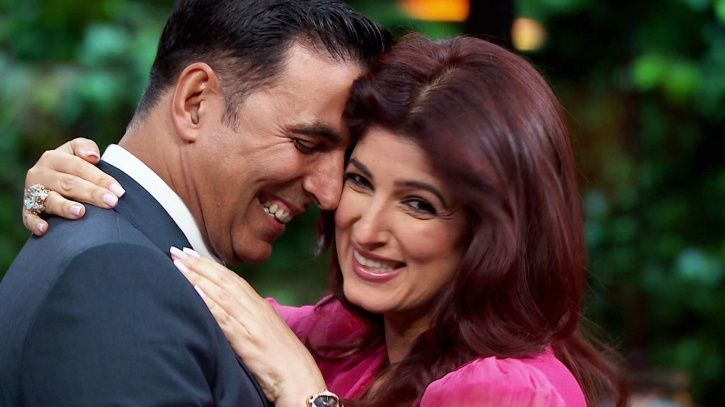 Akshay Kumar and Twinkle Khanna.