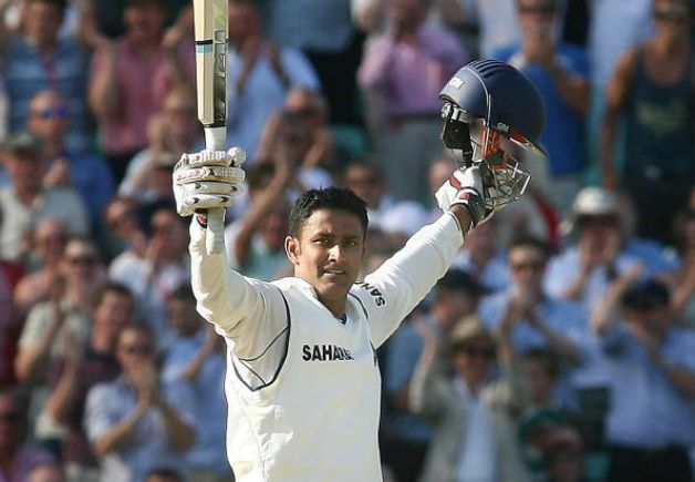 Anil Kumble made 110 not out