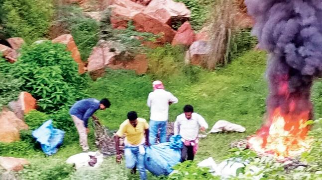 Aravalli hills, foul play, residents, Ecogreen Energy, Gurugram, Faridabad