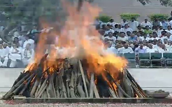 Atal Bihar Vajpayee Cremation
