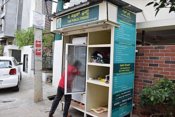 Bengaluru Community Fridges Feed The Hungry