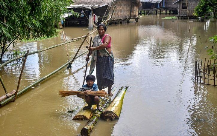 China Issues Flood Warning In Brahmaputra