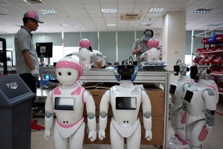 China's robot stars