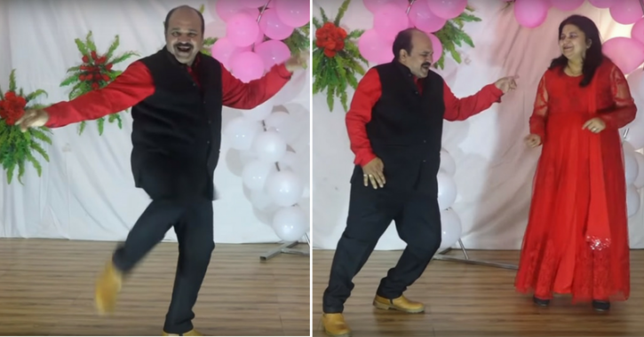 Dancing Uncle Is Back With Another Stunning Performance, This Time On Mithun's Song 'Julie Julie'