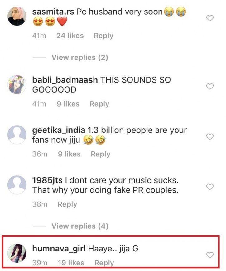 Fans call Nick Jonas Jija Ji