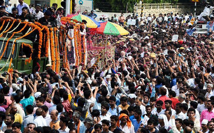 Final journey Shri Atal Bihari Vajpayee12