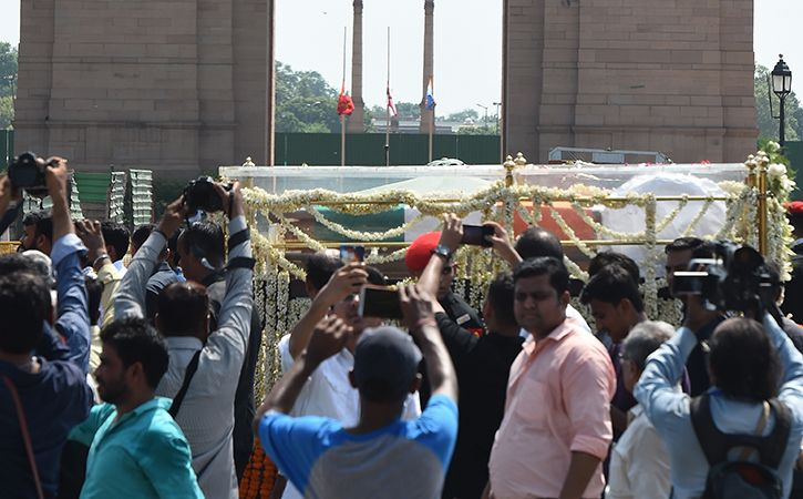 Final journey Shri Atal Bihari Vajpayee1