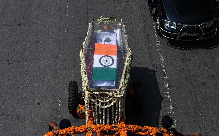 Final journey Shri Atal Bihari Vajpayee4