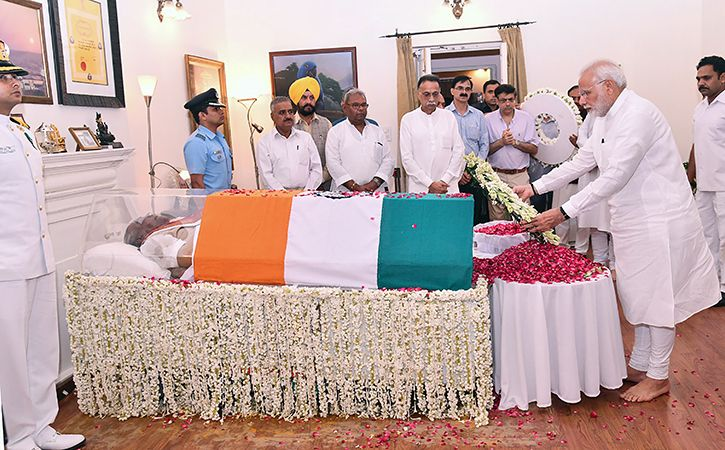 Final journey Shri Atal Bihari Vajpayee6