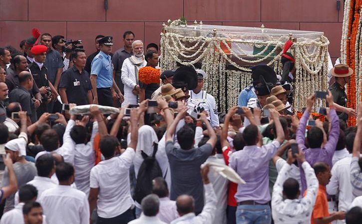 Final journey Shri Atal Bihari Vajpayee8