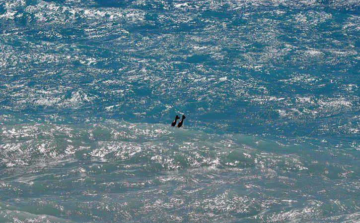 fisherman swim 7 hour