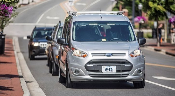 Ford self-driving