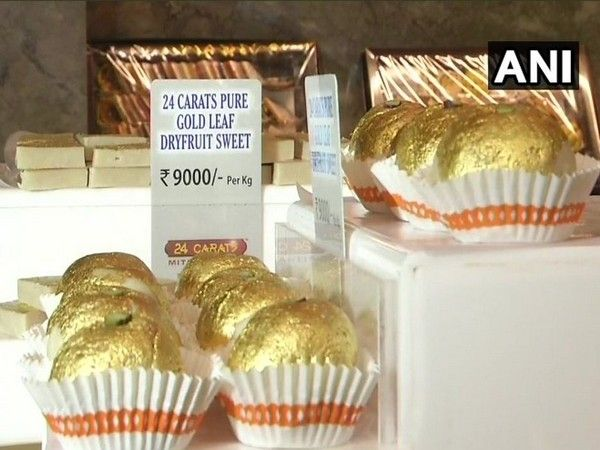 'Gold leaf' is used to decorate food items to give them a luxurious value and are usually flavourles