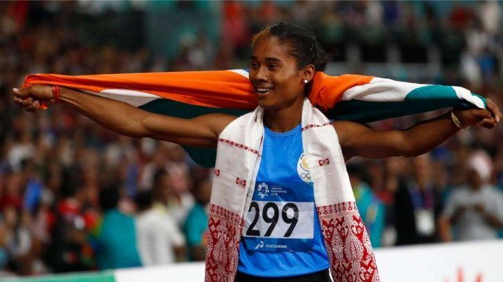 Hima Das won gold at Asiad