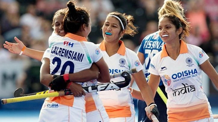 India beat Italy 3-0 to enter the Women