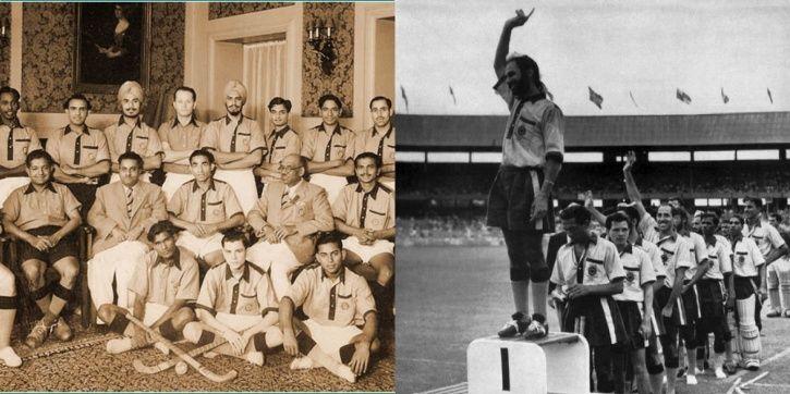 India won hockey gold at the 1948 Olympics