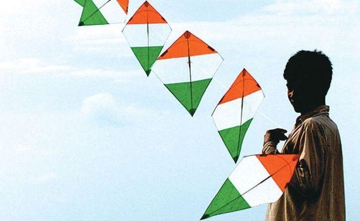 indian flag kite