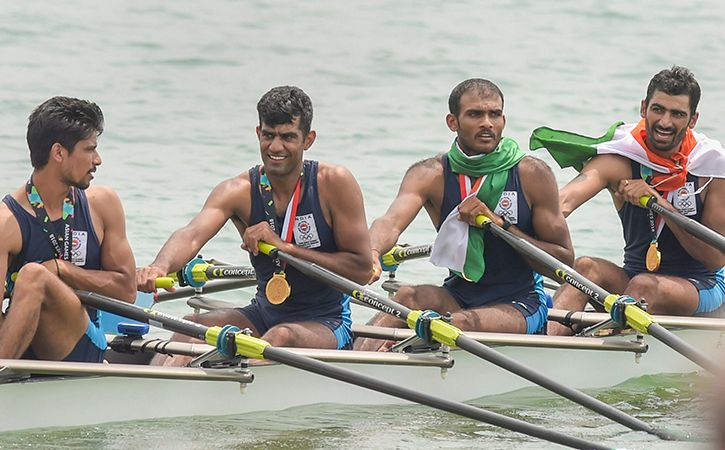 Indian Rowers Claim 1 Gold 2 Bronze Medals