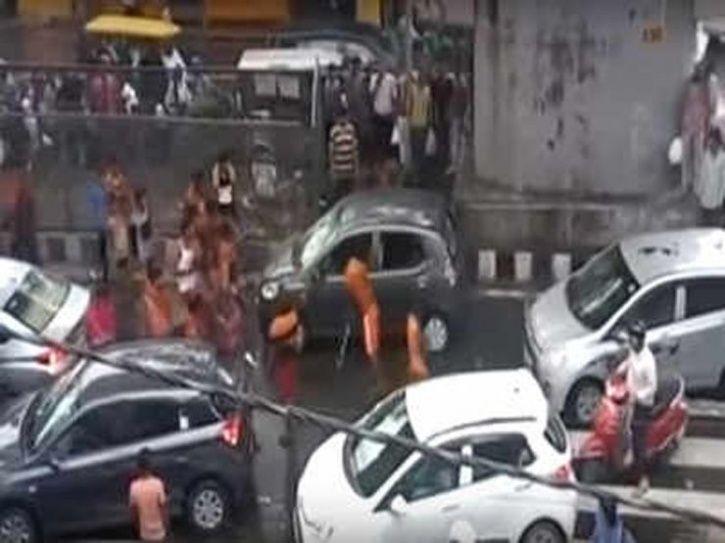 kanwariya vandalism in Delhi