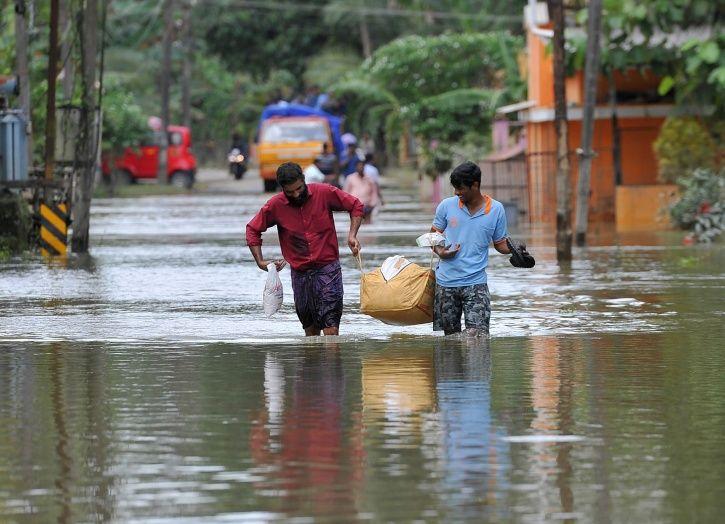 Kerala floods, mosque, hindus