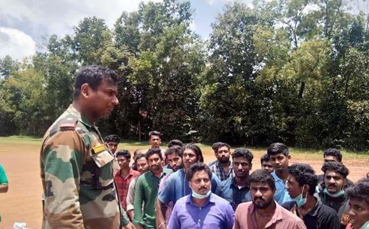 major hemant raj saved hundreds of people in kerala