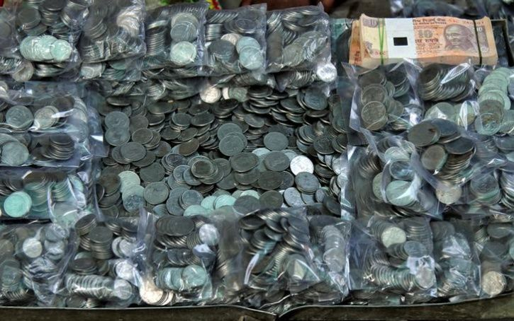 Man Pays Alimony in coins