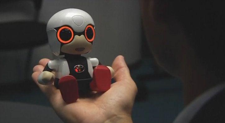 mini robot impacting children behaviour
