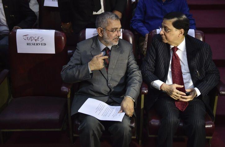 Mohit Chauhan And SC Judge Justice Kurian Joseph We Shall Overcome
