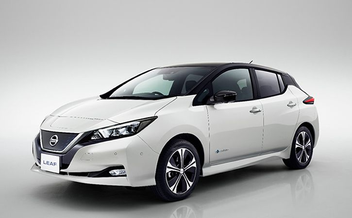 nissan electric car