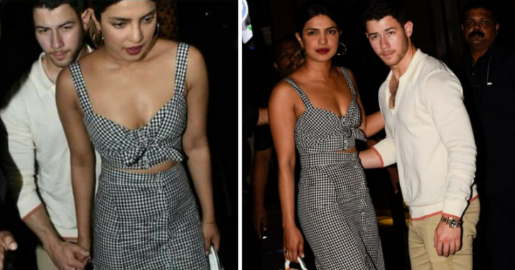Priyanka Chopra and Nick Jonas are always holding each other