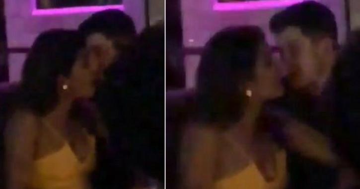 Romance Is On The Rise! Priyanka Chopra And Nick Jonas Get Cozy At A Night Club In Singapore