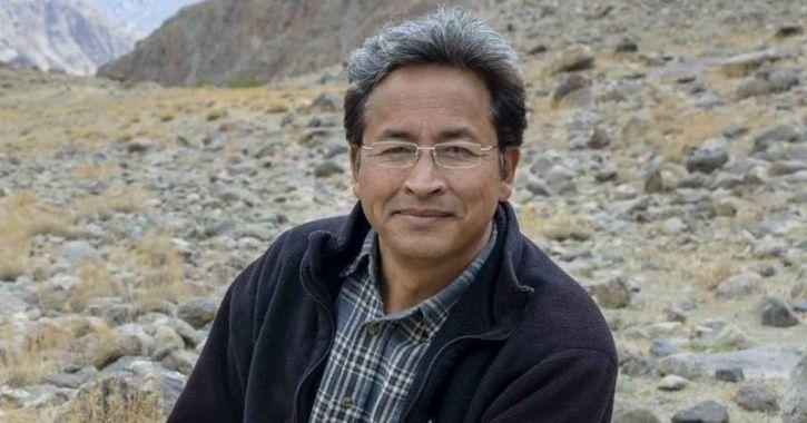 S Sonam Wangchuk education India