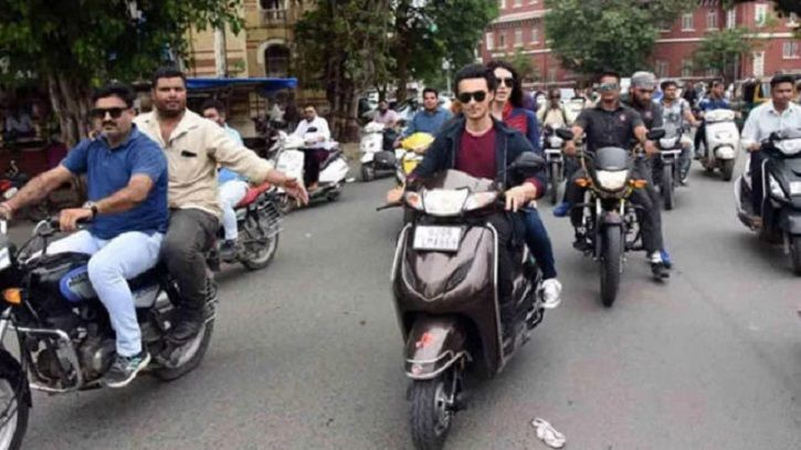 Salman Khan's Brother-In-Law Aayush Sharma Fined For Riding Bike Without Helmet